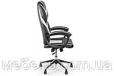 Кресло для домашенего кабинета Barsky Sportdrive White Arm_pad Anyfix Alum BSDany_alu-04, фото 3