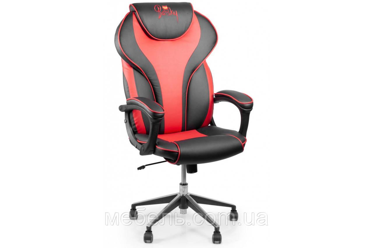 Кресло для врача Barsky Sportdrive RED Arm_pad Anyfix Alum  BSDany_alu-03
