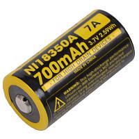 Аккумулятор IMR18350 (700mAh) Nitecore NL18350A