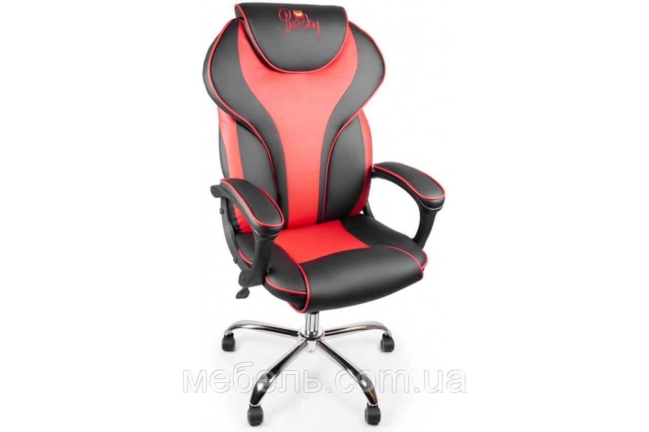 Геймерское кресло Barsky Sportdrive RED Arm_pad Tilt Chrome BSDchr-03