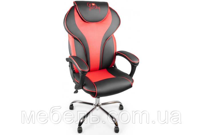 Геймерское кресло Barsky Sportdrive RED Arm_pad Tilt Chrome BSDchr-03, фото 2