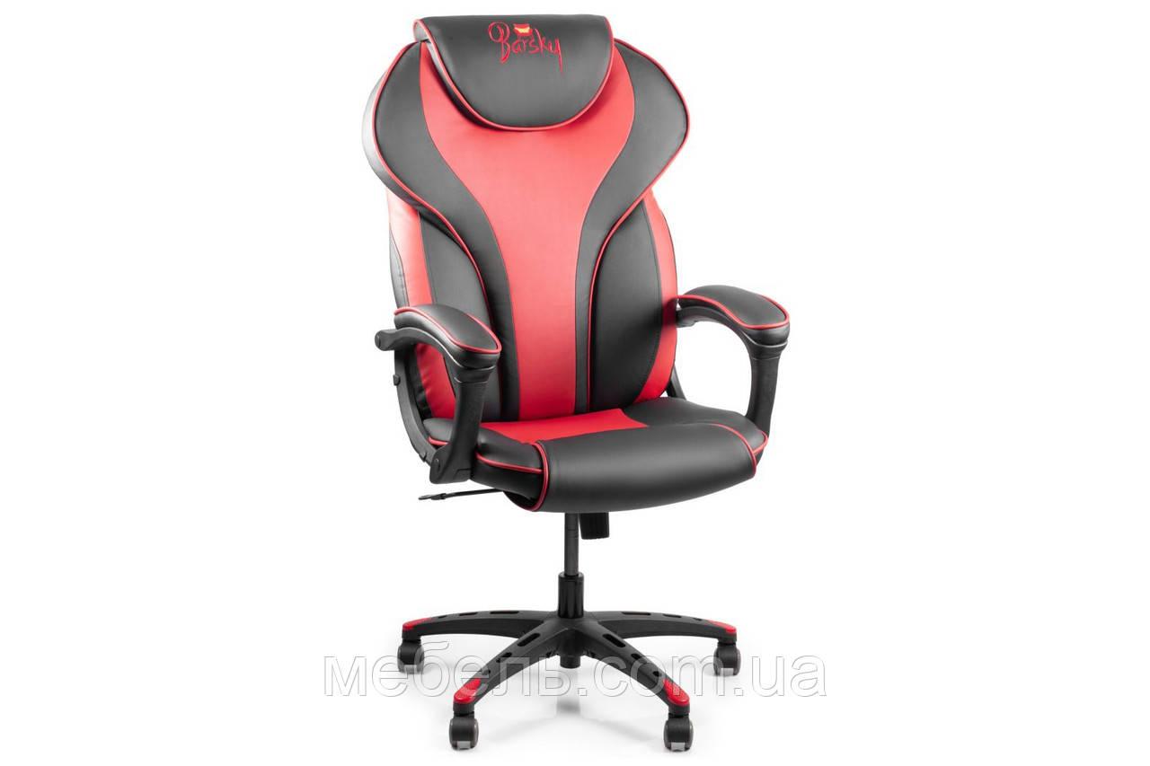 Кассовое кресло Barsky Sportdrive RED Arm_pad Tilt PA_designe BSD-03