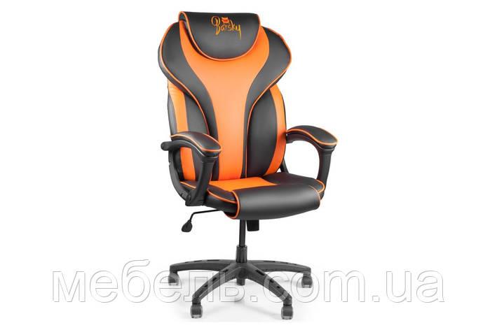 Компьютерное детское кресло Barsky Sportdrive Orange Arm_pad Tilt PA_designe BSD-05, фото 2