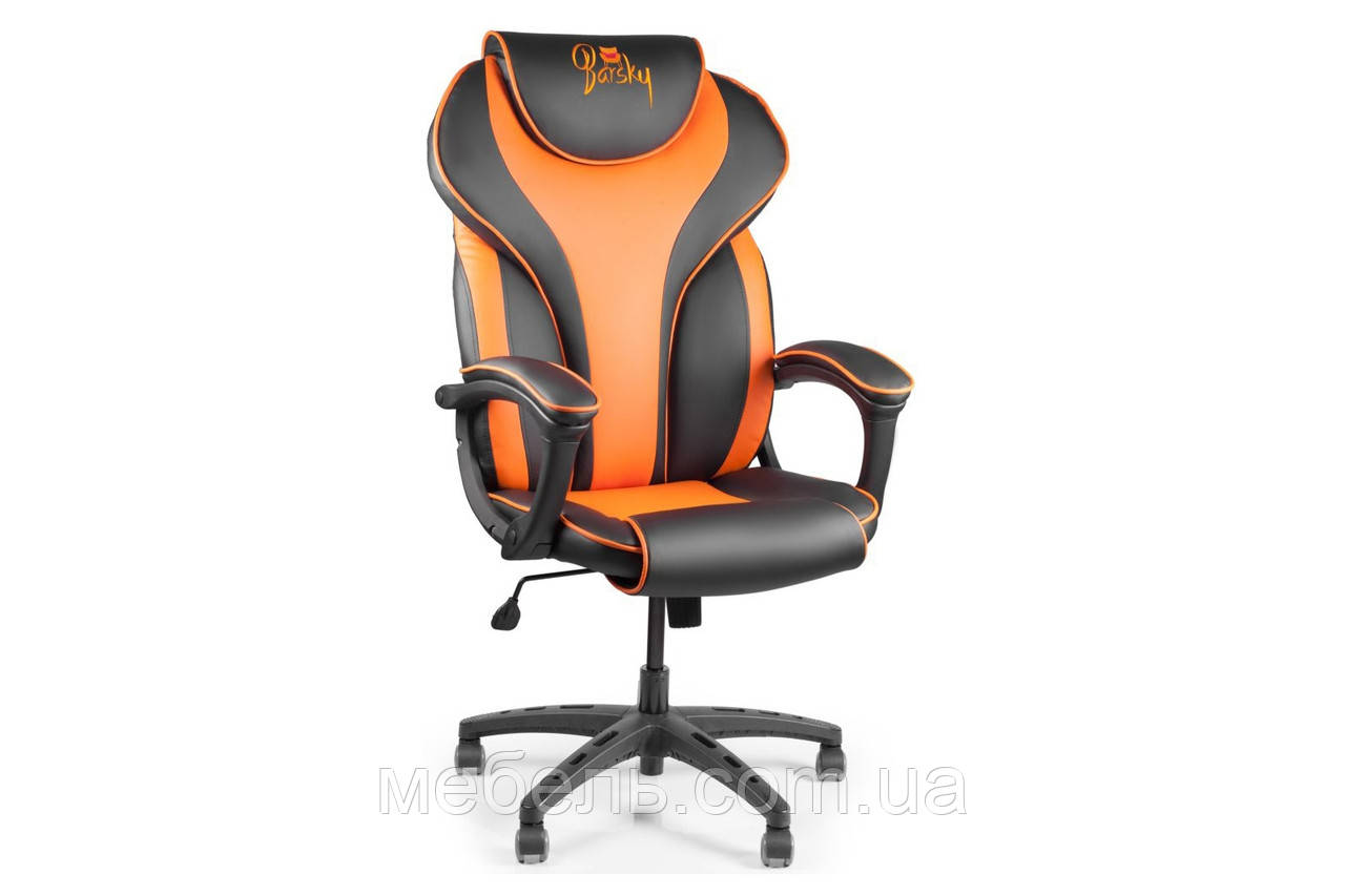 Кресло для врача Barsky Sportdrive Orange Arm_pad Tilt PA_designe BSD-05