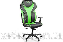 Кассовое кресло Barsky Sportdrive Green Arm_1D Synchro PA_designe BSDsyn-01