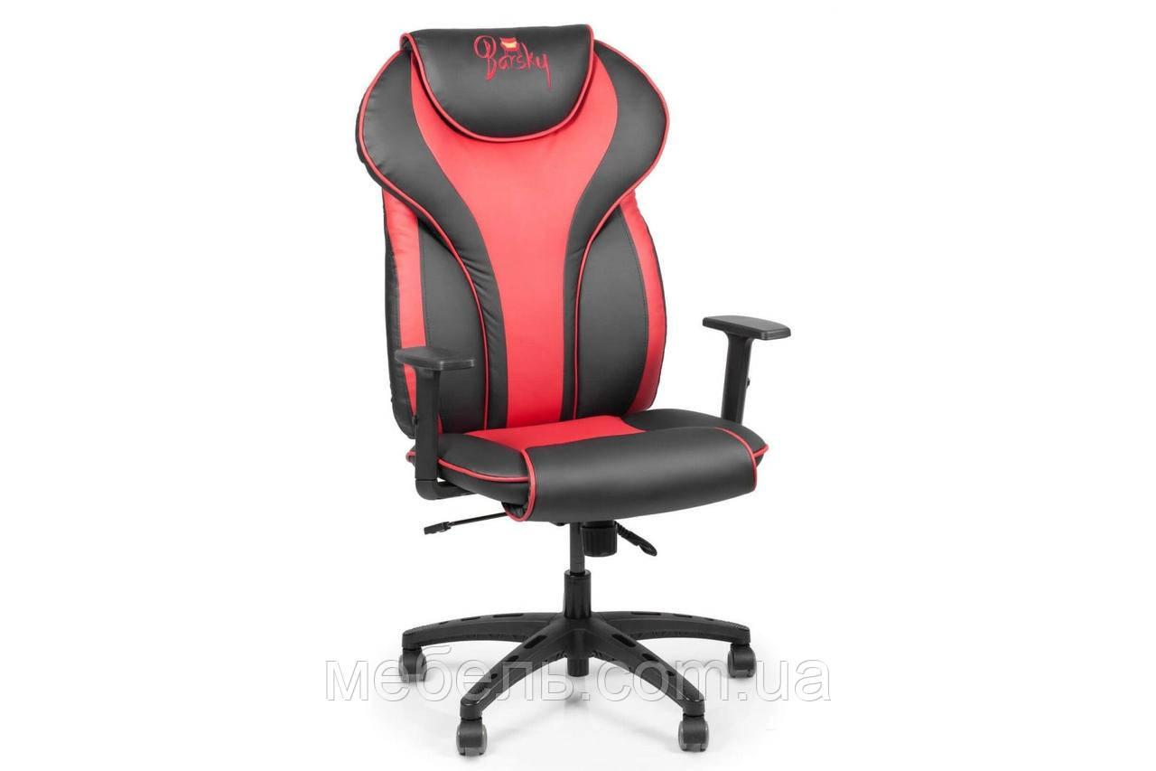 Кассовое кресло Barsky Sportdrive RED Arm_1D Synchro PA_designe BSDsyn-03