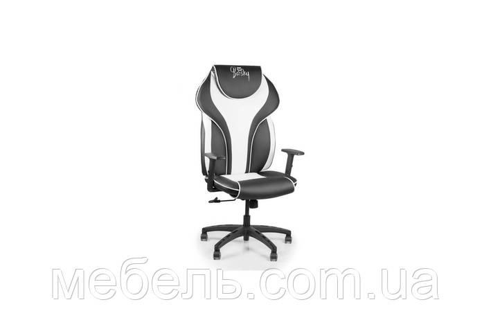 Компьютерное игровое геймерское кресло Barsky Sportdrive White Arm_1D  Synchro PA_designe  BSDsyn-04, фото 2