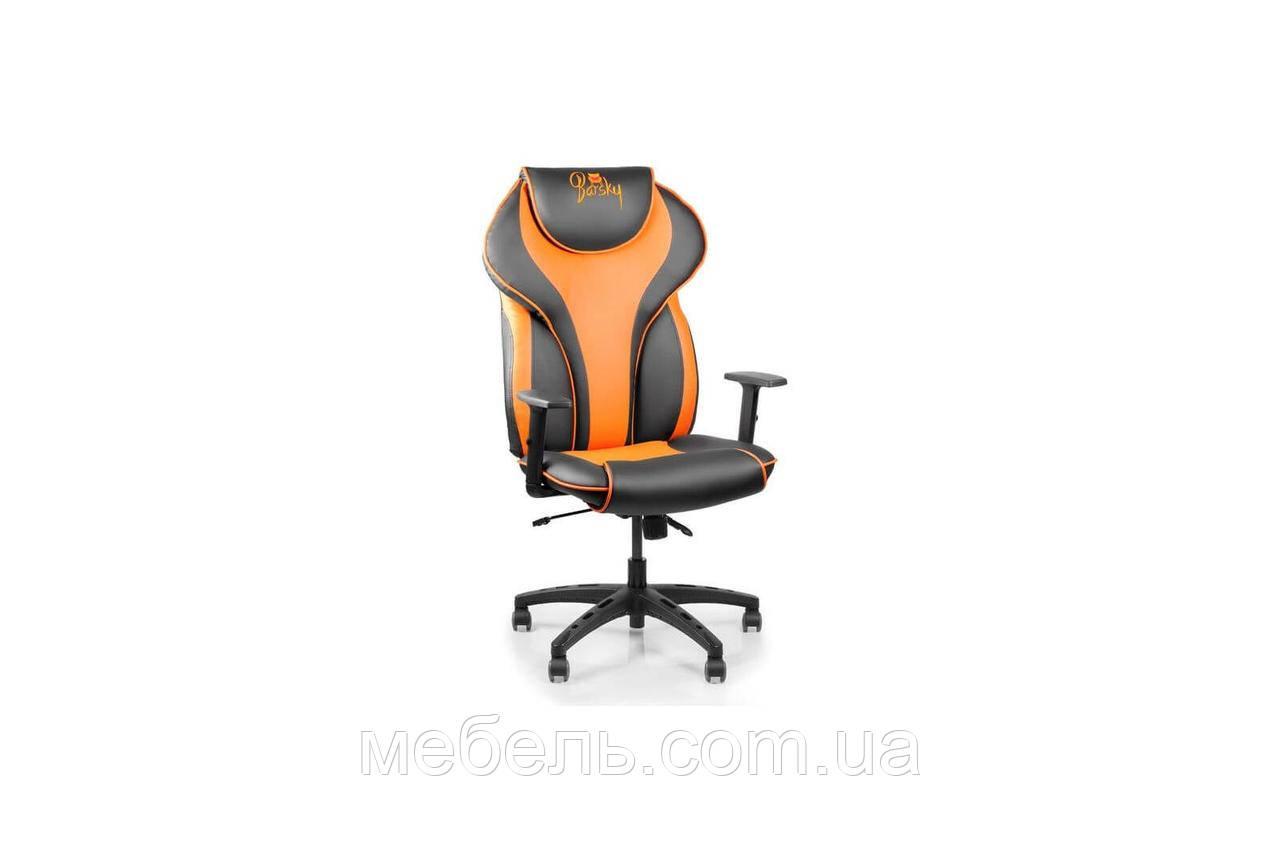 Кресло для врача Barsky Sportdrive Orange Arm_1D Synchro PA_designe BSDsyn-05