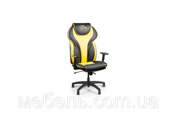 Кассовое кресло Barsky Sportdrive Yellow Arm_1D Synchro PA_designe BSDsyn-06, фото 2