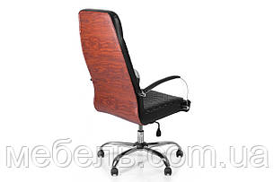Компьютерное детское кресло Barsky Сhief Black Rhombus/Red tree Chrome CF-07, фото 2