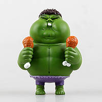 Фигурка Marvel: толстый/жирный Халк с курицей 12см
