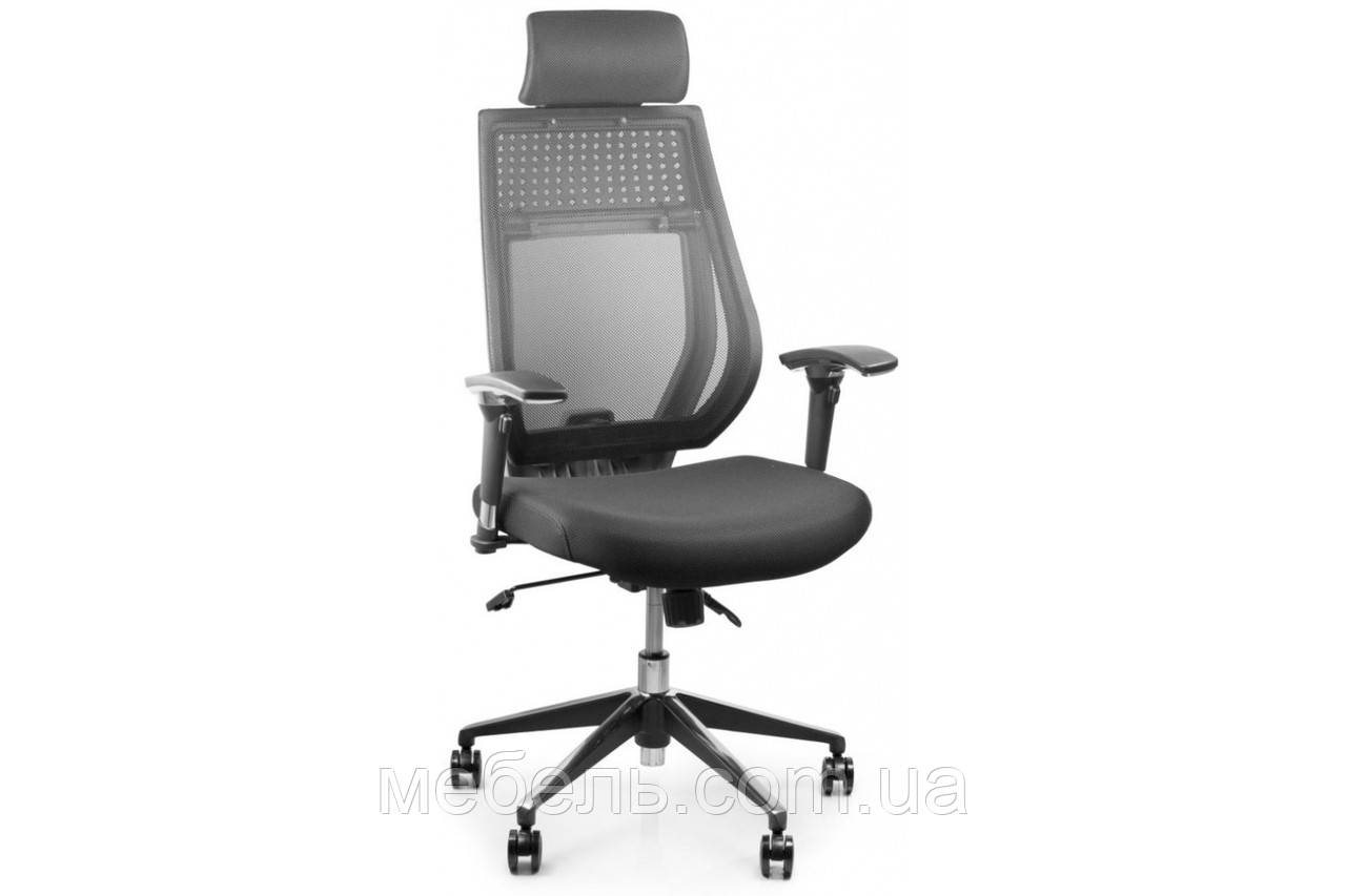 Кассовое кресло Barsky Team Black/Grey Arm_2D alum-chrome TBG2d_alu-01