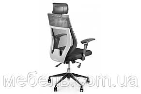 Кассовое кресло Barsky Team Black/Grey Arm_2D alum-chrome TBG2d_alu-01, фото 2