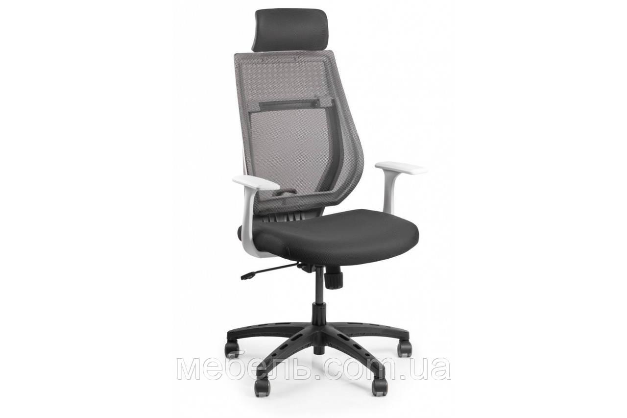 Кресло для домашенего кабинета Barsky Team White/Grey Arm_w TWGw-01
