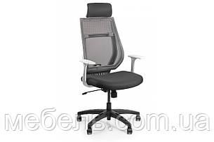 Кресло для домашенего кабинета Barsky Team White/Grey Arm_w TWGw-01, фото 2