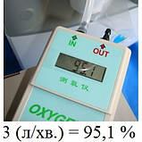 Кислородный концентратор медицинский JAY-5В  (+пульсоксиметр), фото 7