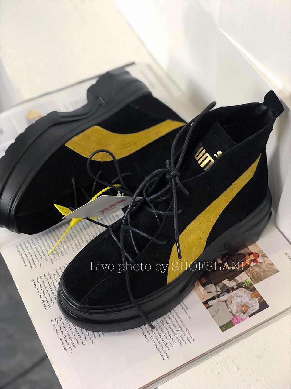 Жіночі Черевики Puma Spring Boots Black Yellow