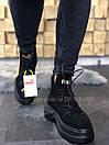 Жіночі Черевики Puma Spring Boots Black Yellow, фото 3