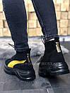 Жіночі Черевики Puma Spring Boots Black Yellow, фото 4
