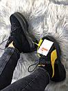 Жіночі Черевики Puma Spring Boots Black Yellow, фото 2