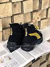 Жіночі Черевики Puma Spring Boots Black Yellow, фото 7