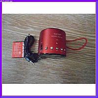 Портативная колонка MP3 от USB FM WS-A8 красная
