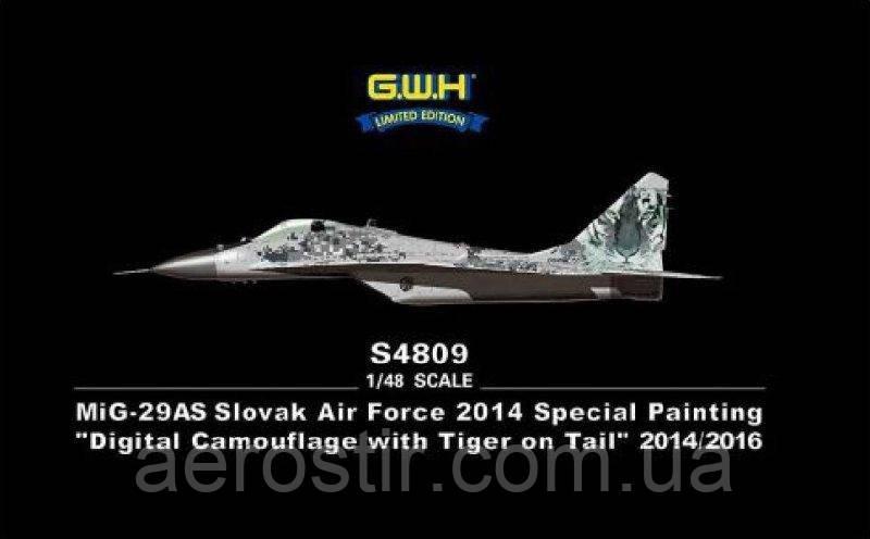 МиГ-29АС 1/48 Great Wall Hobby S4809