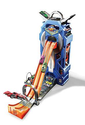 Игровой трек Хот Вилс Сити Мега Гараж Парковка Hot Wheels City Mega Garage, фото 2
