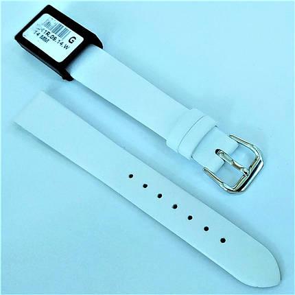 14 мм Кожаный Ремешок для часов CONDOR 241.14.09 Белый Ремешок на часы из Натуральной кожи, фото 2