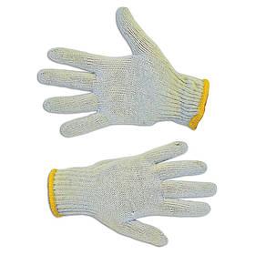 Перчатки рабочие Technics вязанные серые L (16-000)