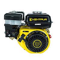 Двигатель бензиновый Кентавр ДВЗ-200Б, под шпонку, вал 19,05 мм,  6,5 л.с. + ПОДАРОК