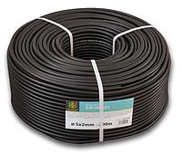 Шланг технический BRADAS BLACK 5 х 2мм, 20bar, AH05*2BK18