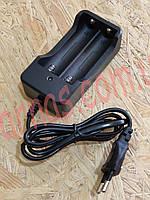 Зарядное устройство для 2-х аккумуляторов шнур, фото 1