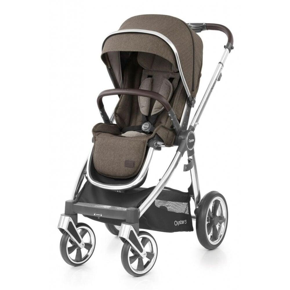 Прогулочная коляска BabyStyle Oyster 3 Truffle «BabyStyle» (O3CHTRU)