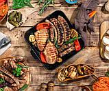 Орешница, бутербродница, вафельница, гриль - тостер 4 в 1 Livstar, фото 9