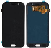 Дисплей + сенсор Samsung A720H GALAXY A7 2017 Черный LCD TFT