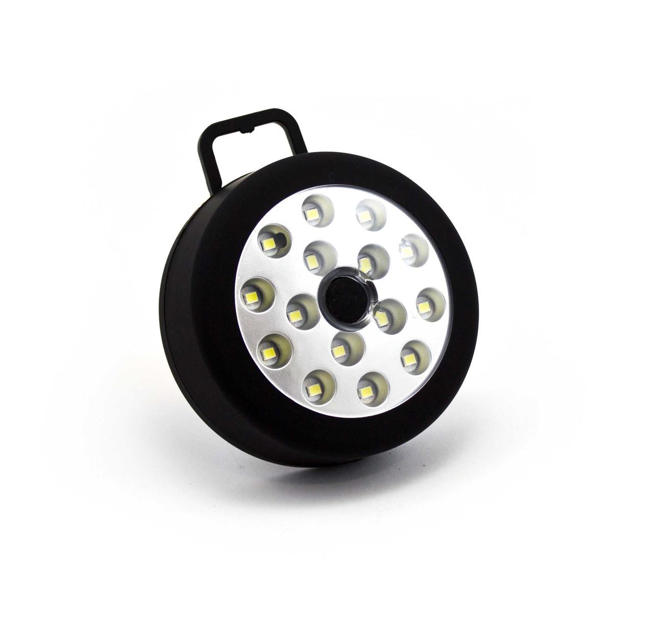 Светодиодный фонарь  на магните 15 SMD ТХ-015 Черный