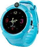 Детские наручные смарт часы Smart Baby Watch A17 Голубой, фото 3
