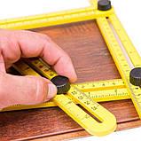 Мультифункциональная линейка Multifunctional folding ruler, фото 3