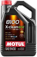 MOTUL 8100 X-CLEAN EFE SAE 5W30 (5L) Моторное масло ACEA С2/C3 API SN для двигателей EURO 6