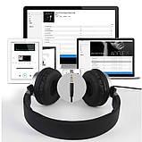 Наушники накладные с микрофоном Gorsun GS-789 черные, фото 2