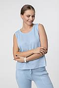 SEWEL Майка JS596 (46-48, голубой, 50% хлопок/ 50% акрил)