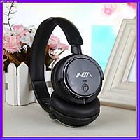 Беспроводные Bluetooth Наушники с MP3 плеером NIA-Q1 +Радио
