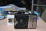 Всеволновой радиоприёмник GOLON RX-606 AC от сети или батареек, фото 2