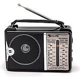 Всеволновой радиоприёмник GOLON RX-606 AC от сети или батареек, фото 3