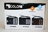 Всеволновой радиоприёмник GOLON RX-606 AC от сети или батареек, фото 5