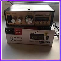 Усилитель звука UKC AK-699BT – двухканальный по 30 Вт на канал