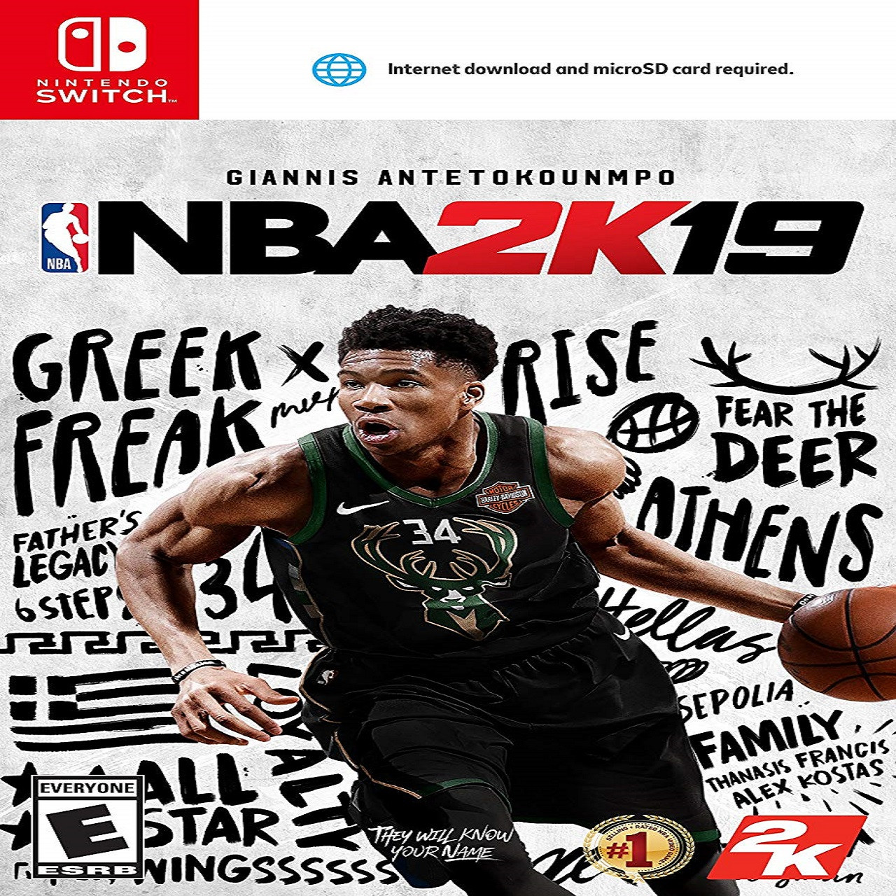 NBA 2K19 ENG Nintendo Switch