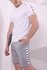 Мужские спортивные шорты с лампасами в стиле Adidas 4 цвета в наличии, фото 3
