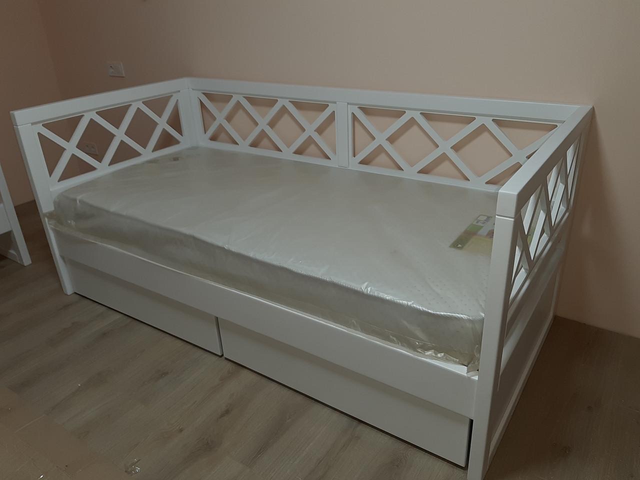 Деревянная кровать Прованс-7